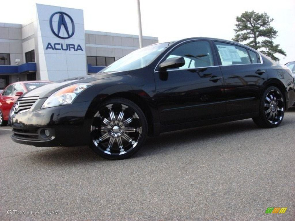 Nissan rims 2007 nissan altima 2 5 s custom wheels photo 52087934