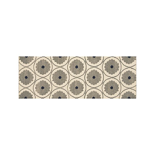 Ridley Wool 2.5'x7' Rug Runner  | Crate and Barrel