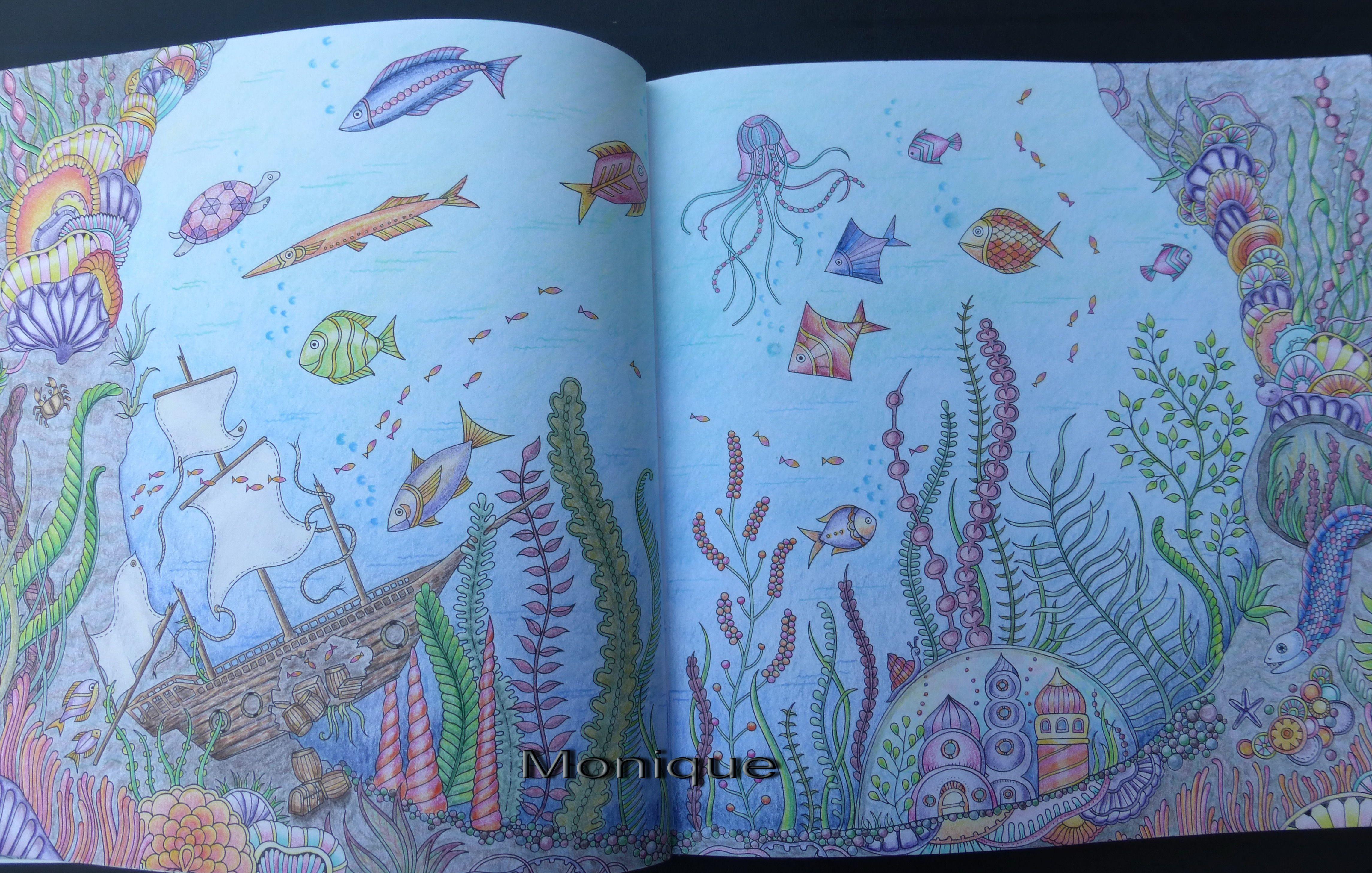 Lost Ocean Johanna Basford Colored By Monique T Hart