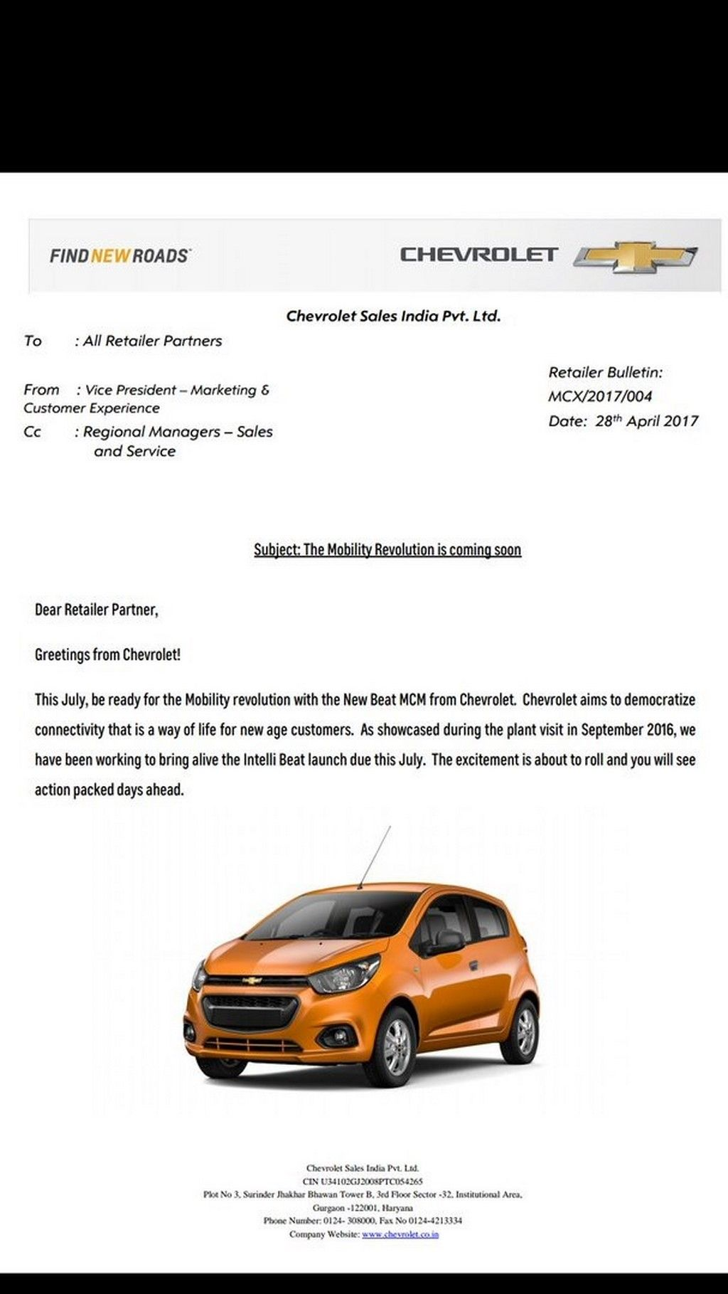 2017 Chevrolet Beat Launch In July 2017 In India Chevrolet