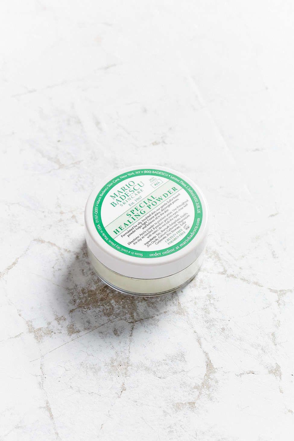 Mario Badescu Special Healing Powder Mario Badescu Acne Treatment Cream Natural Organic Skincare