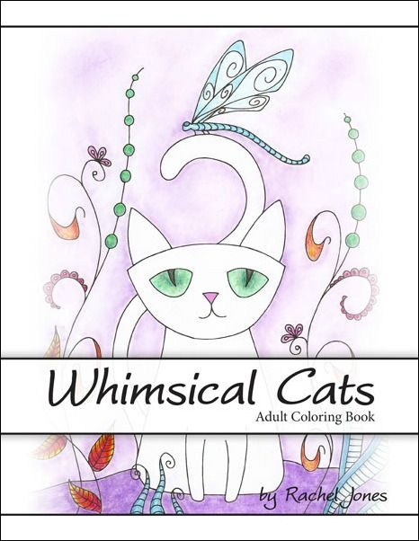 Whimsical Coloring Books For Adults Clutter Free