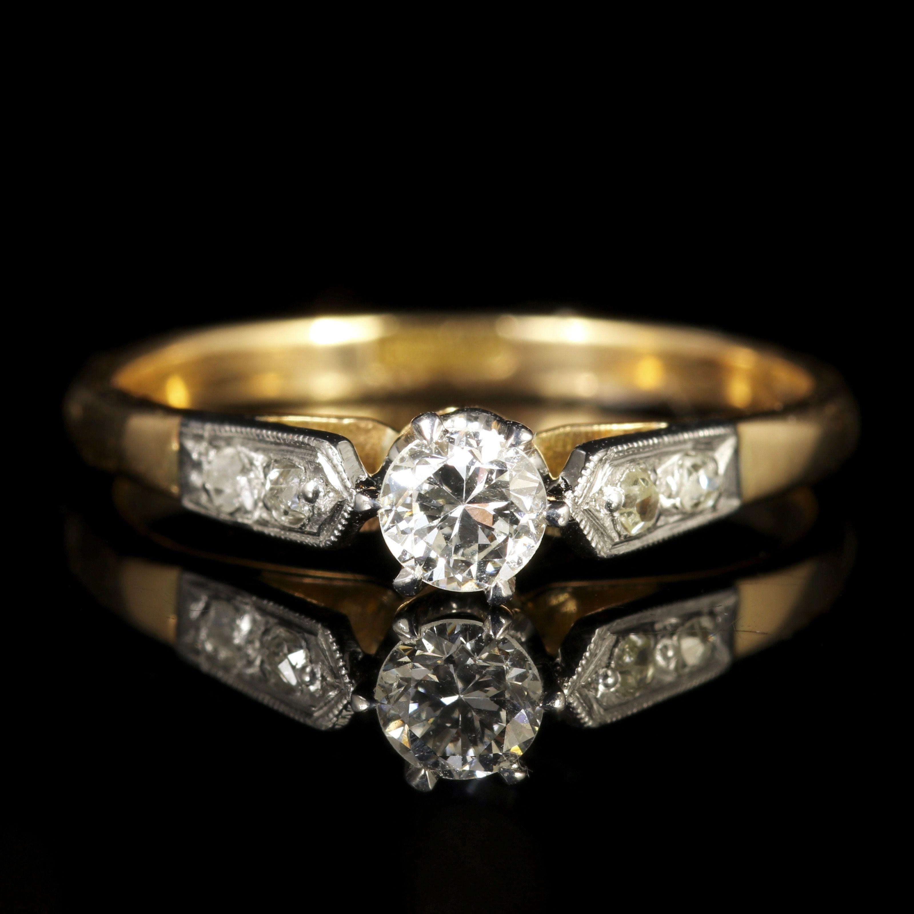 Antique Edwardian Diamond Engagement Ring Circa 1915: Genuine Edwardian Wedding Rings At Websimilar.org