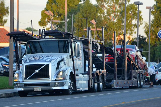 Excel transport and towing volvo big rig auto transport truck excel transport and towing volvo big rig auto transport truck 18 wheeler by fandeluxe Choice Image