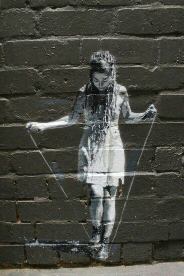Pin by melanie bee on blackwhitegrey pinterest street art