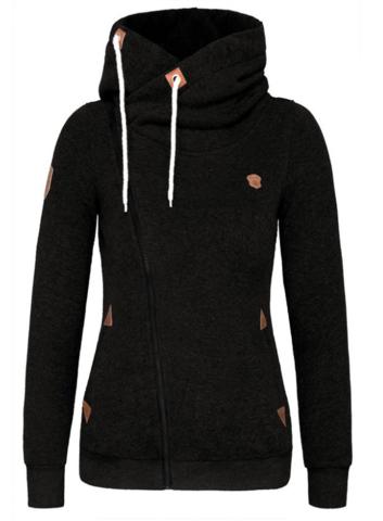 die besten 25 black zip up hoodies ideen auf pinterest schwarzer hoodie kapuzenpullis mit. Black Bedroom Furniture Sets. Home Design Ideas