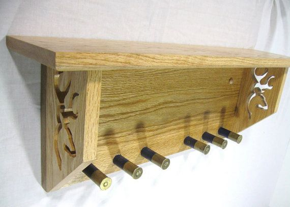 Rustikale Coat Hut Rack Regal / Handtuchhalter von MorganWoodCrafts