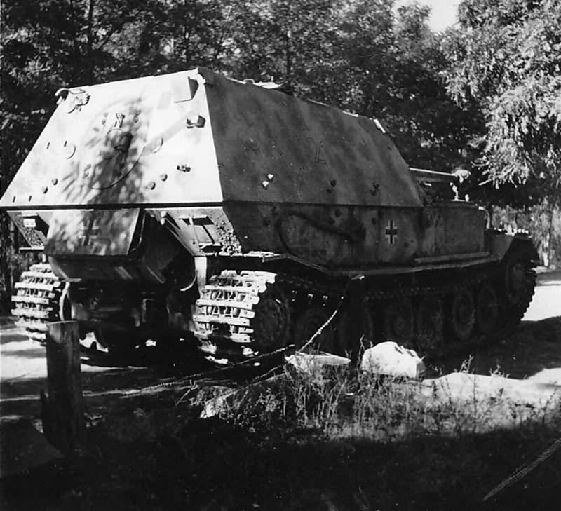 правая фото танка фердинанда сделана, цветокоррекция