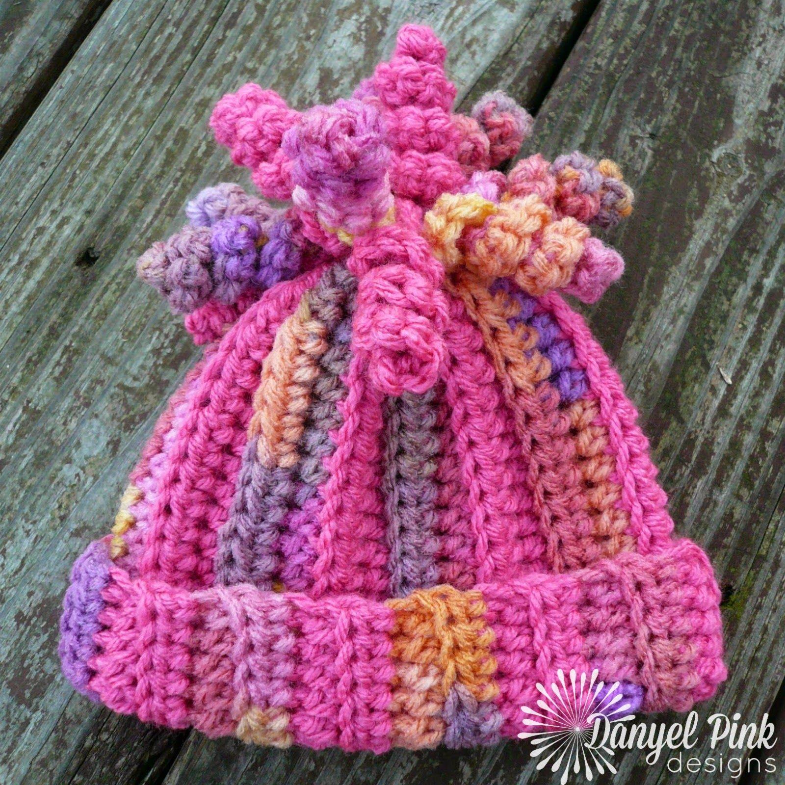 Danyel Pink Designs: PATRÓN DE CROCHET - Delaney Sombrero | gorros ...