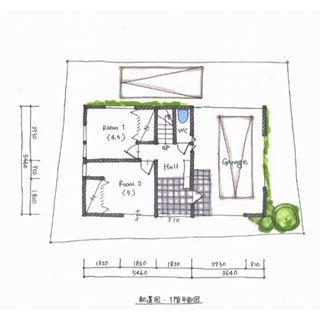 . 【ボツプラン046】 生活の中心は2階にあるのにトイレが1…