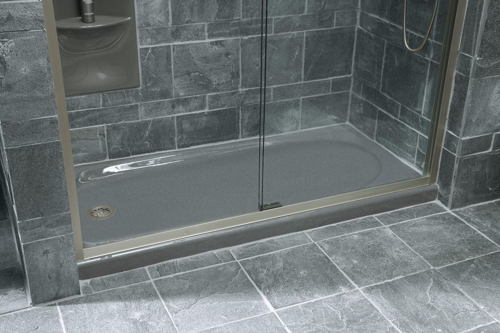 Kohler Shower Pan Cast Iron Shower Stall Design Ideas Building A Shower Pan Diy Bathroom Remodel Bathrooms Remodel