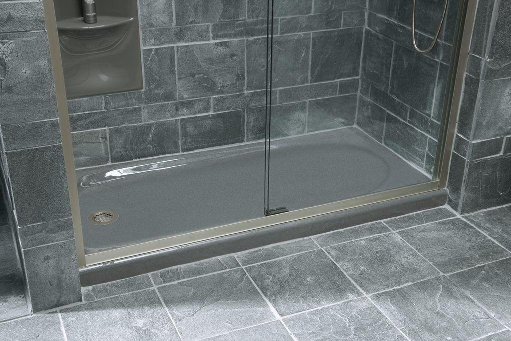 Kohler Shower Pan Cast Iron Shower Stall Design Ideas Building