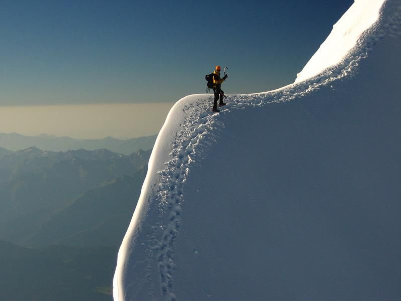 Edge of the world.