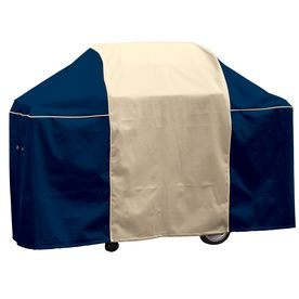 Char Broil 65 In X 44 In Coastal Blue Polyester Gas Grill Cover 2185562 Gas Grill Covers Best Barbecue Grills