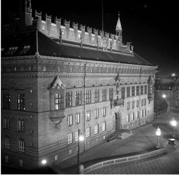 Københavns Rådhus 1954