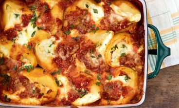 Spinach and Cheese Stuffed Shells from aspiring Chef Jack Witherspoon