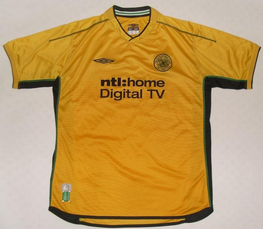 e7e083d73 Celtic Glasgow. Away 2002 - 2003.  larsson  bhoys  celtic  umbro ...