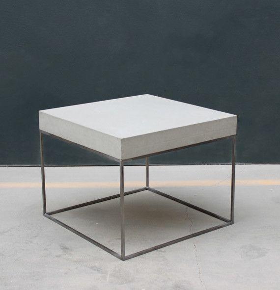 Beton wohnzimmertisch  Betonmöbel | Möbel | Pinterest | Betonmöbel, Couchtische und Kombination