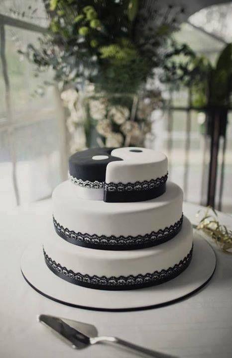 Jing Jang Cake Yin Yang Hochzeitstorte Torten Geburtstag Torte