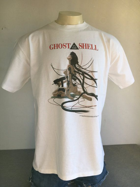 Ghost In The Shell Shirt 1995 Vintage 90s Rare By Sweetvtgtshirt Ghost In The Shell Movie Tees Vintage