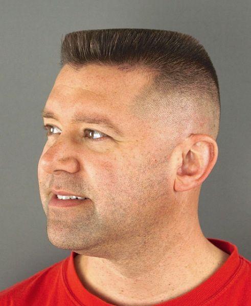 Male Short Haircuts Flat Top Haircut Top Haircuts For Men Army Haircut