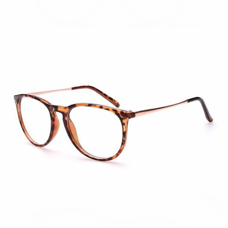 55mm Cat Eye Plastic Oval Optical Frames Tortoise Brown Fashion Eye Glasses Glasses Fashion Optical Frames
