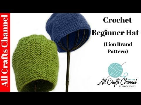 Quick And Easy Crochet Hat Video Weve Tried It Crouchet