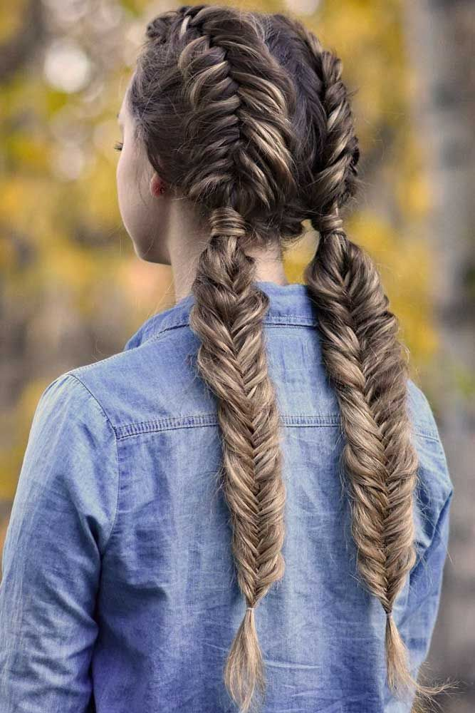 Fishtail Braid Hairstyles Interesting 15 Proofs That A Fishtail Braid Is Must Try  Fishtail Braids And