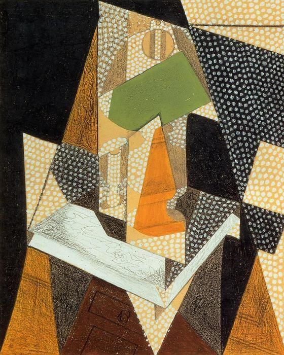 Juan Gris (1887-1927, Spain) Painted 1916