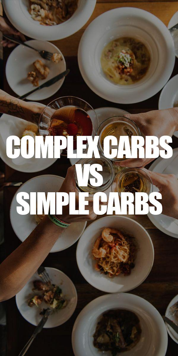 Complex Carbs VS Simple Carbs | Good carbs, Nutrition ...