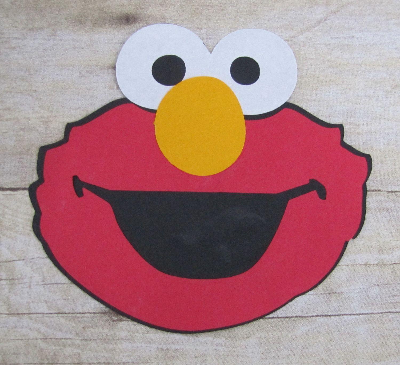 Elmo Handmade Birthday Invitations