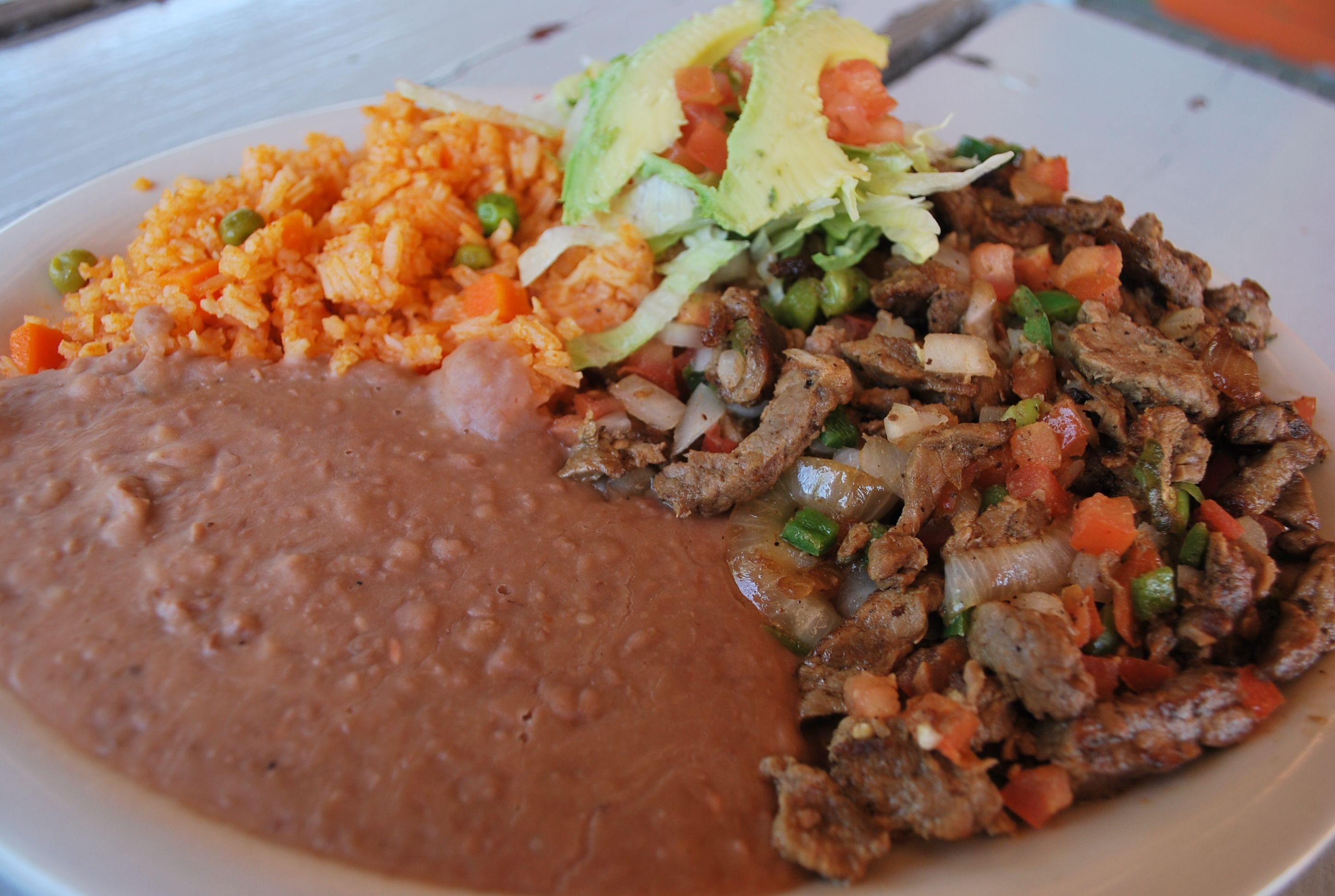 Today 39 s lunch suggestion our carne asada a la mexicana for Ideas para hacer de comer hoy