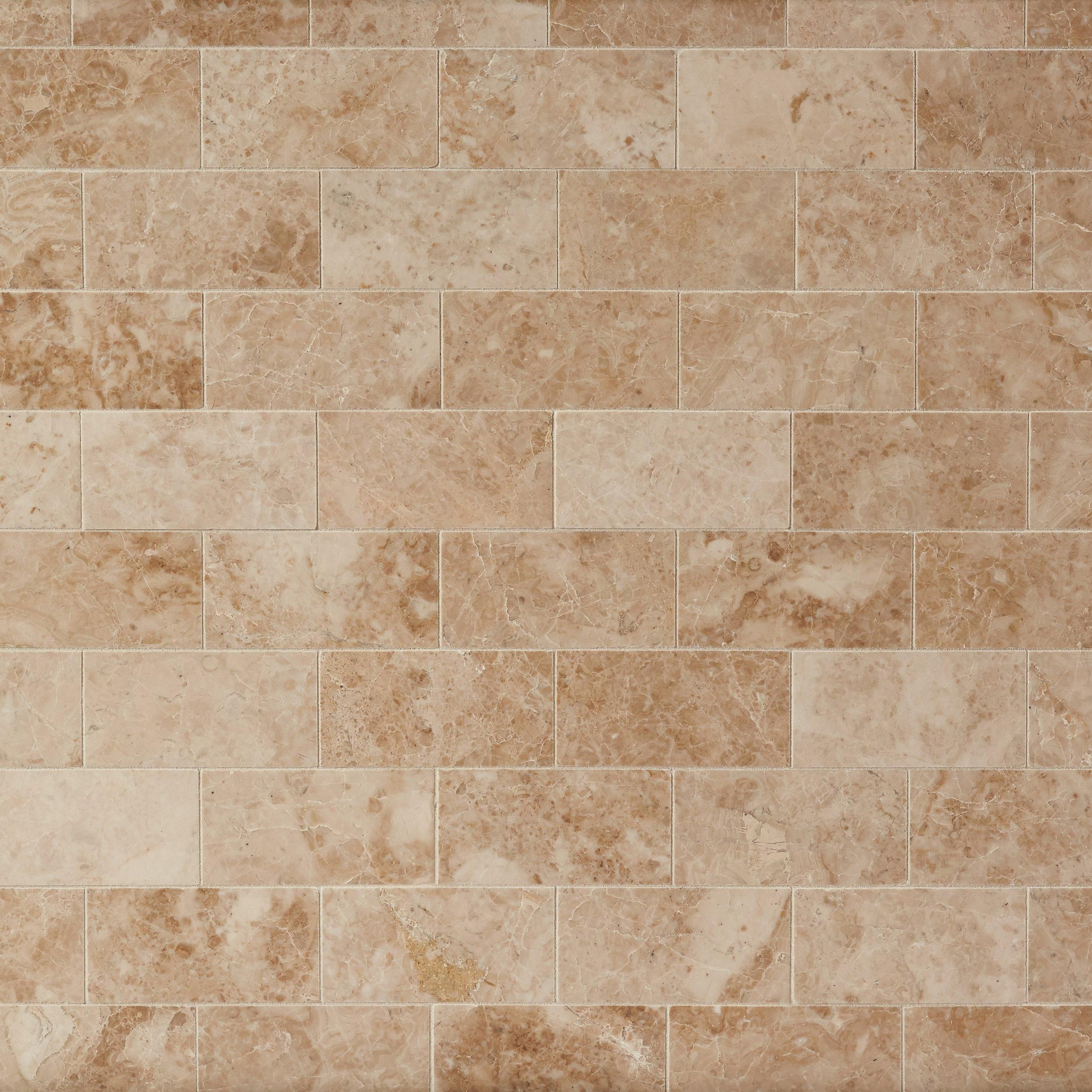 Cuccino Beige Polished Marble Tile Tiles