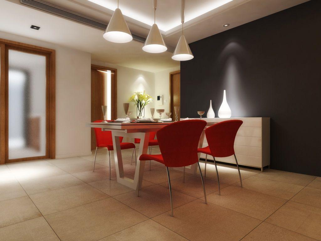 Imagen de pisos y azulejos de salas de estar comedor for Sala de estar y comedor