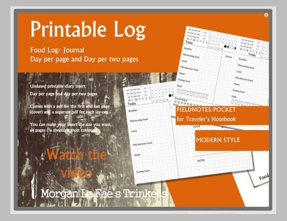 Food Log Templates 10+ Free Word, Excel  PDF Formats