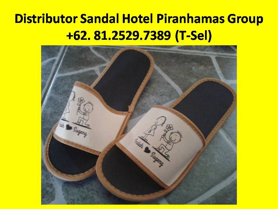 acf62b6ca65f Grosir Sandal Hotel Murah di Bandung