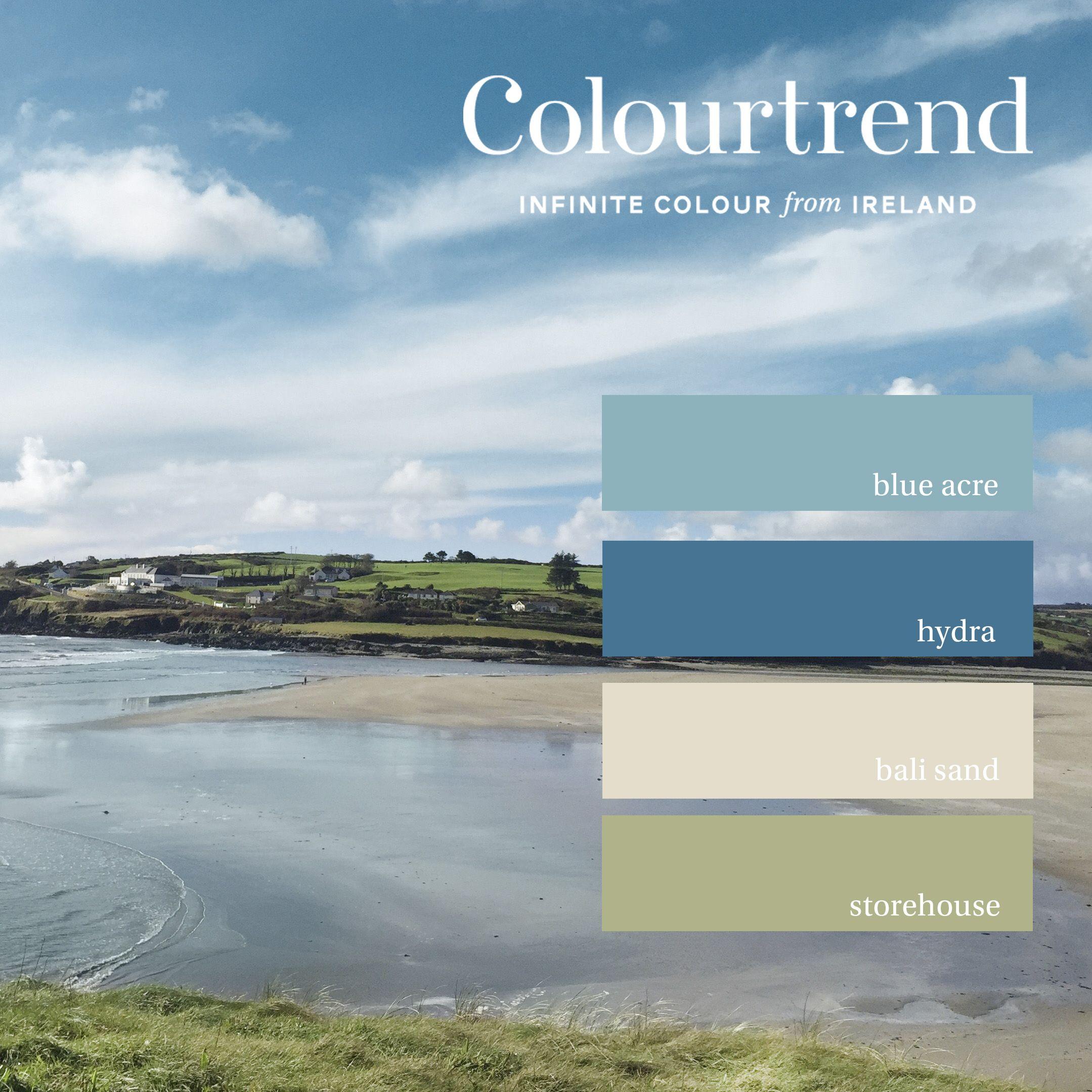 Paint Palettes Colour Irish Landscape Ireland Colours Walls Beach Patience In Interior