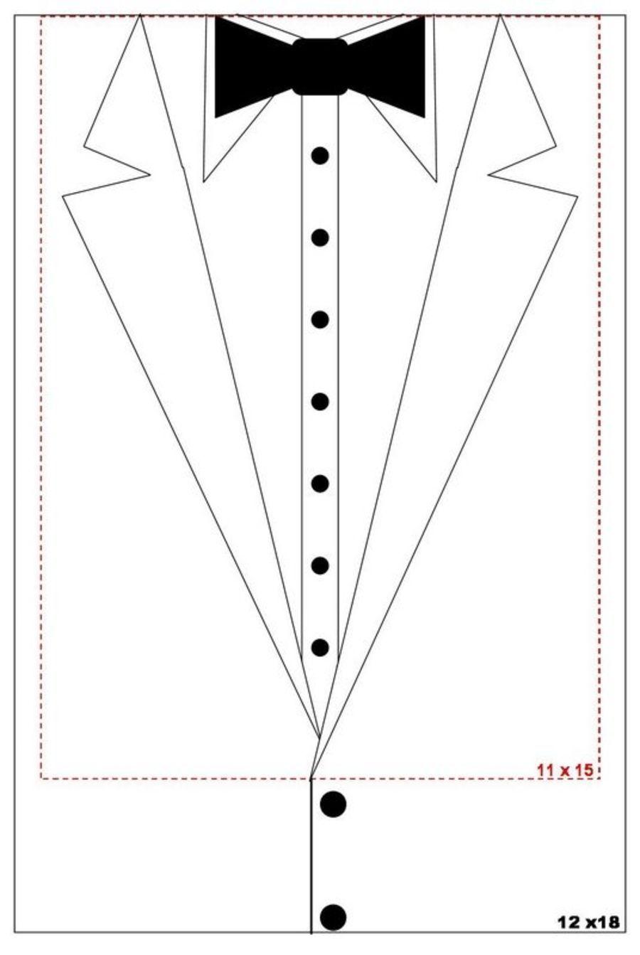 12062161217288 Jpg Tuxedo Card Shirt Cake Cards