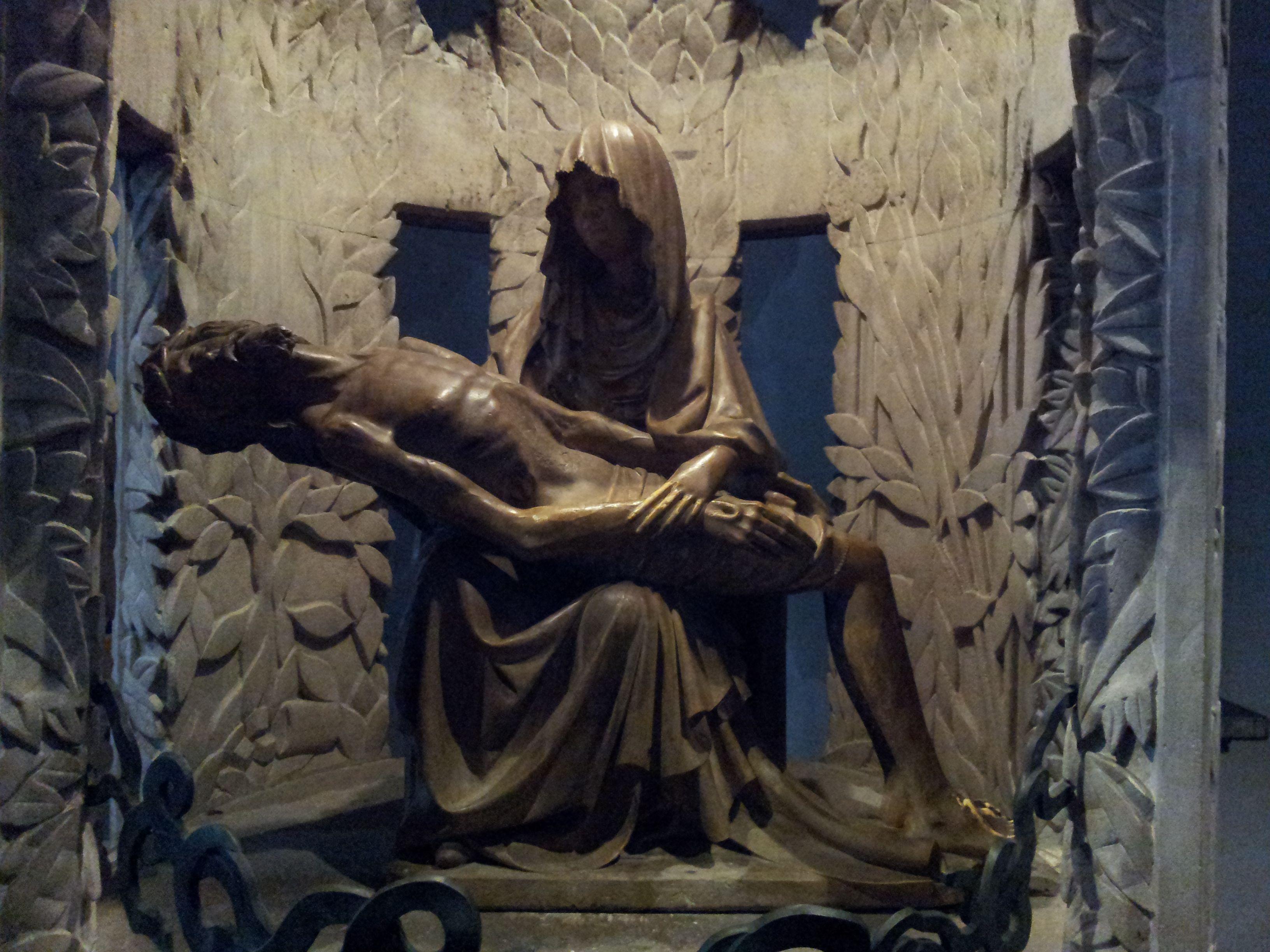 Pietà in the Lamberti church, Düsseldorf