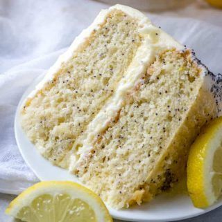 Lemon Poppy Seed Cake #lemonbuttercream Moist, citrusy and delicious this Lemon Poppy Seed Cake is a flavorful layered cake with a light and zesty lemon buttercream frosting. #cake #layercake #lemon #poppyseed #buttercream #lemoncake #lemonbuttercream Lemon Poppy Seed Cake #lemonbuttercream Moist, citrusy and delicious this Lemon Poppy Seed Cake is a flavorful layered cake with a light and zesty lemon buttercream frosting. #cake #layercake #lemon #poppyseed #buttercream #lemoncake #lemonbuttercr #lemonbuttercream