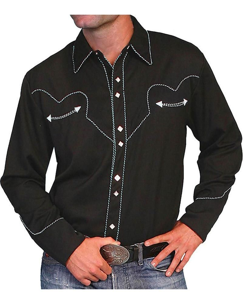 a0067ead62 Scully Short Sleeve Western Shirts – EDGE Engineering and Consulting ...