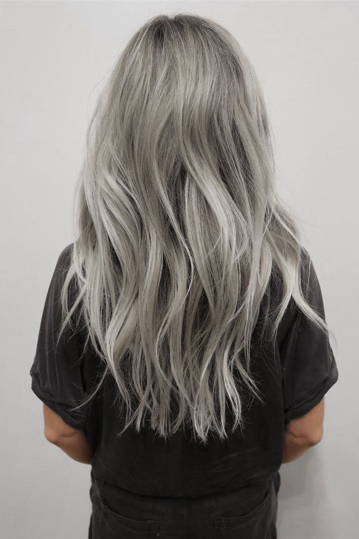 Pin by lorraine maillet on hair pinterest coloured hair silver