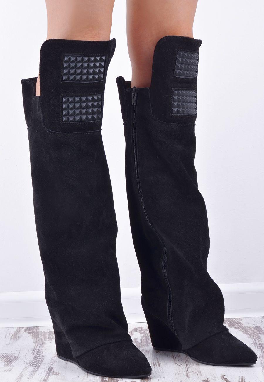 Buty I Obuwie Damskie Polbuty Balerinki Botki Czolenka Boots Fashion Over Knee Boot