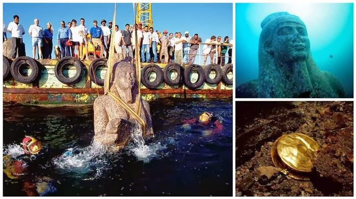 An Ancient Egyptian City Named Heracleion Was Unexpectedly - Explorers discover ancient 1200 year old egyptian city