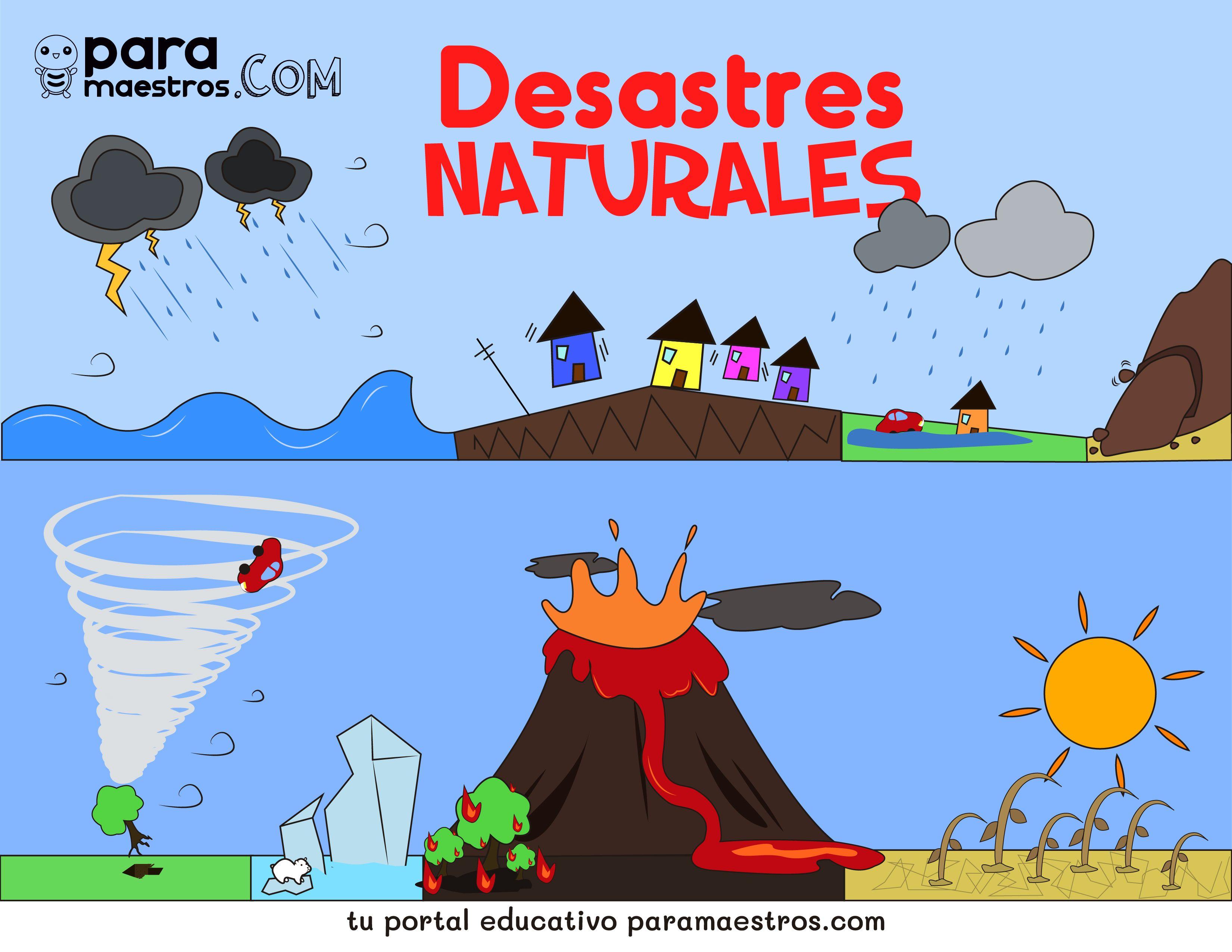 Aprendo En Casa Sobre Los Desastres Naturales Material Educativo Desastres Naturales Para Ninos Desastres Naturales Soy Un Desastre