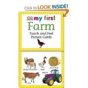 My First Touch And Feel Picture Cards Farm My 1st T Picture Cards Dk Publishing 9780756619718 Amazon Com Books Picture Cards Thinking Toys Cards