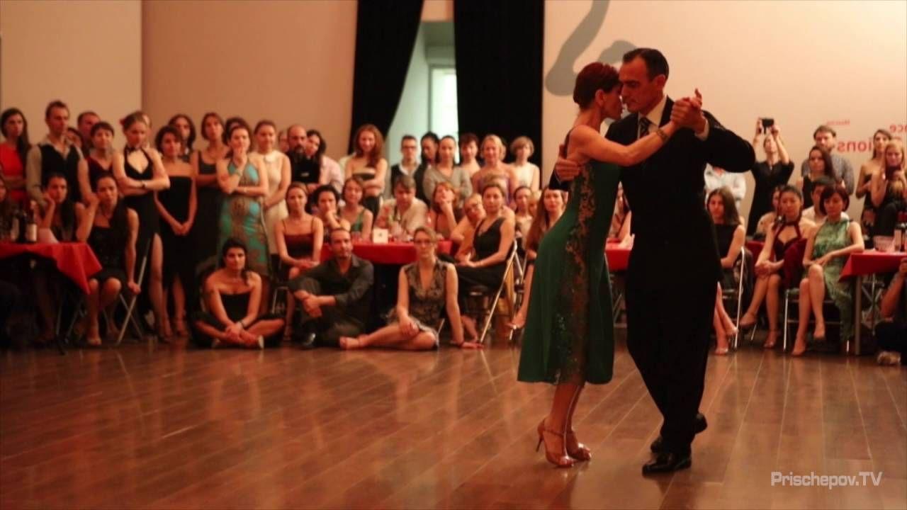 Esteban Moreno & Claudia Codega, 1-4, Moscow, Russia, Second Russian Tan...