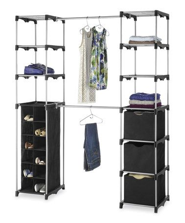Love This Black U0026 Gray Deluxe Double Rod Organizer By Whitmor On #zulily!