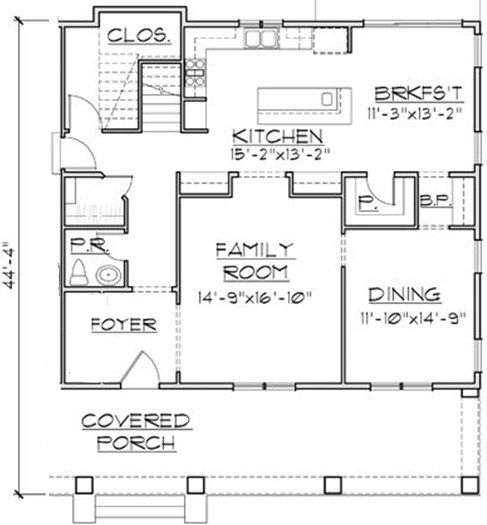 Almost Square Ground Floor Plan Including Butler S Pantry Pantry Built In Shelving L Shaped Kitchen Plus Isla Floor Plans Ground Floor Plan L Shaped Kitchen