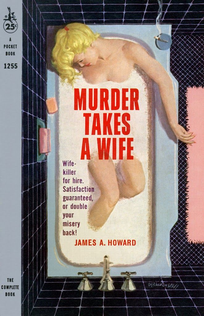 Image result for murder takes a wife pulp cover